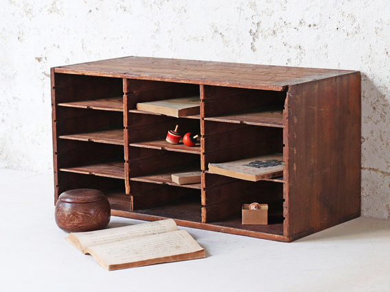 View our  Japanese Vintage Pigeon Hole Cabinet from the  Hallway collection