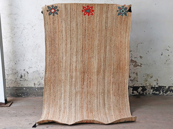 View our  Bohemian Large Handwoven Natural Rug 240 x 150 from the   collection