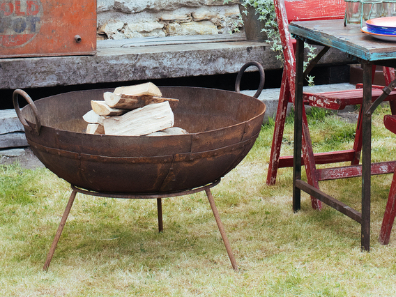 Kadai Fire Bowl - Large - 60-70CM