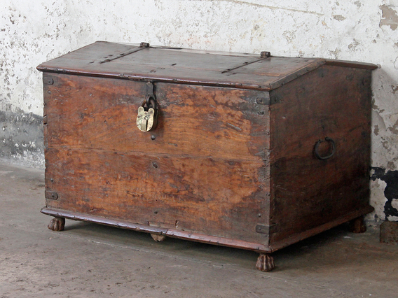View our  Large Antique Storage Chest from the  SALE collection