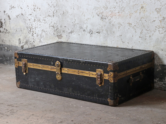 View our  Vintage Steamer Trunk from the  Old Travel Trunks collection