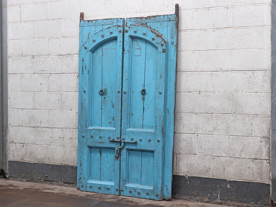 View our  Reclaimed Wooden Doors from the   collection
