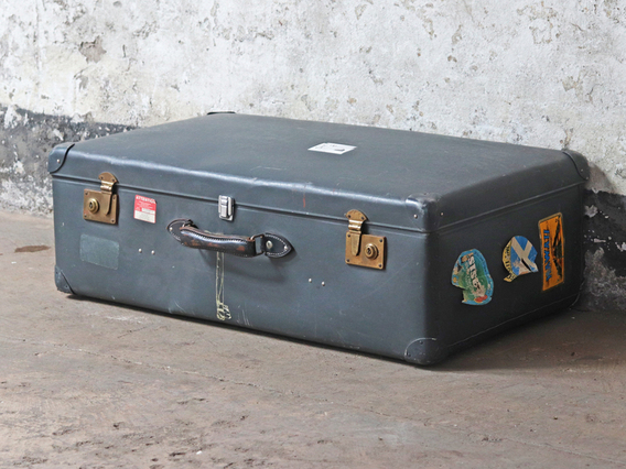 View our  Large Vintage Suitcase by Globetrotter from the   collection