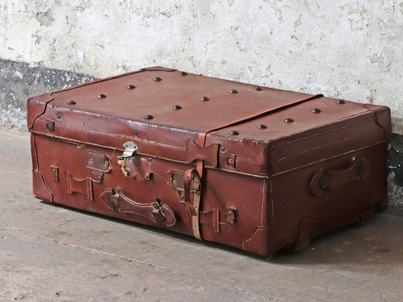 View our  Leather Trunk from the   collection