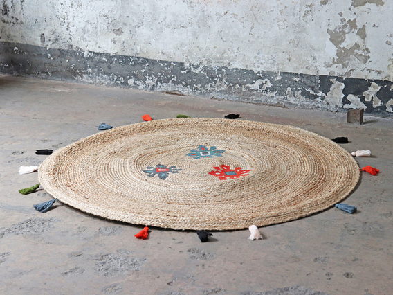 View our  Large Round Jute Rug 150cm from the   collection