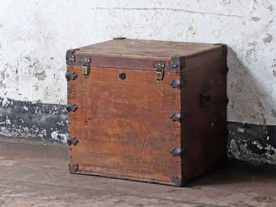 View our  Wooden Storage Chest from the  Sold collection