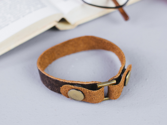 View our  Leather Bracelet Large from the   collection