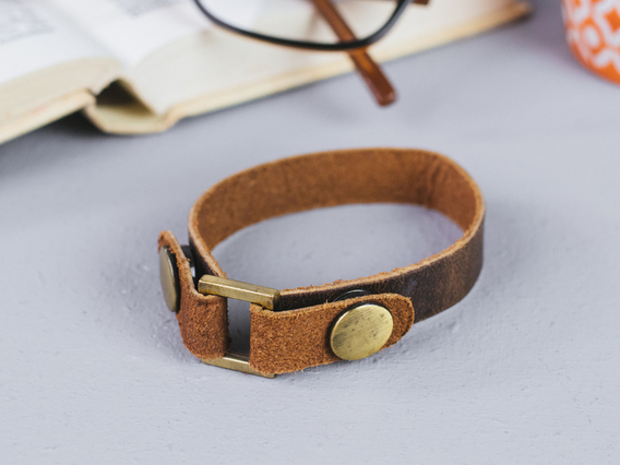 View our  Leather Bracelet Small from the   collection