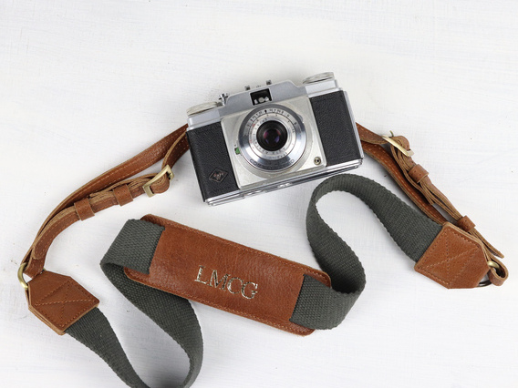 View our  Leather Camera Strap from the   collection