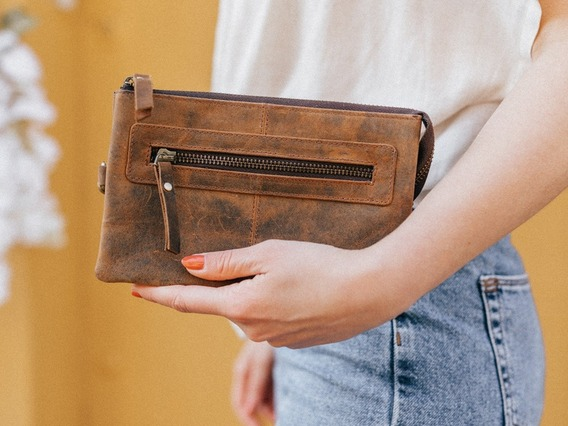 View our Women Leather Clutch Bag from the Women Leather Satchels & Bags collection