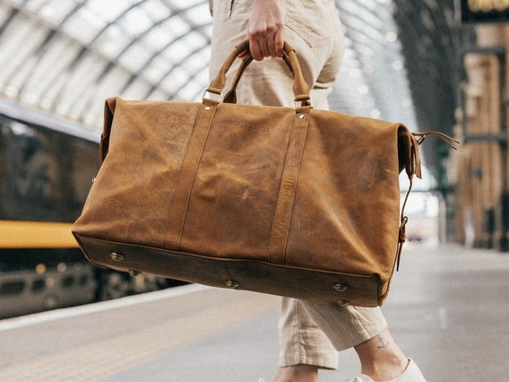 View our Women Leather Duffle Bag from the Women  collection
