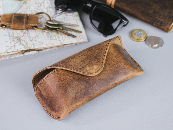 View our  Leather Glasses Case from the  Gifts For Men collection