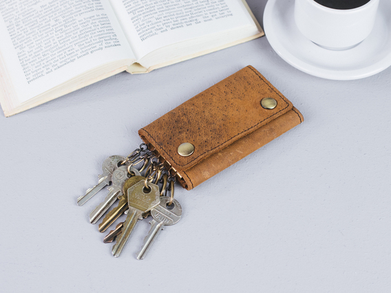 View our  Leather Keyring Case from the   collection