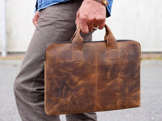 View our  Leather Laptop Bag 13 Inch For Men from the  Gifts Under £100 collection