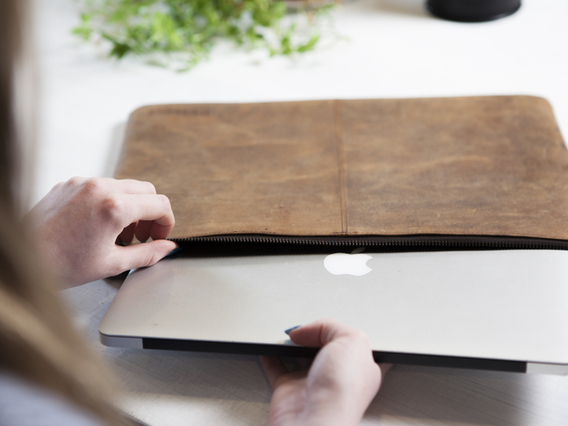 "View our  Leather Laptop Case 13"" from the  Gifts Under £10 collection"