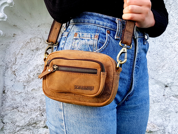 Leather Micro Handbag - The Pixie