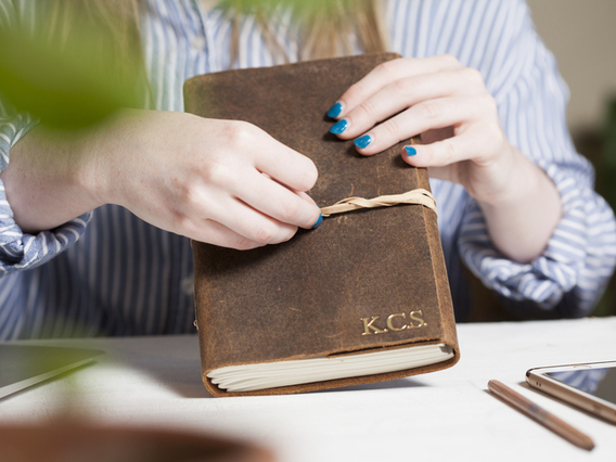 Leather Notebook - Large