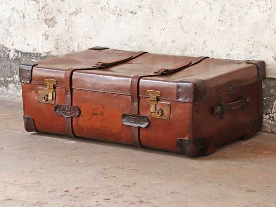 View our  Oslite Travel Trunk by H.J. Cave & Sons from the  Sold collection