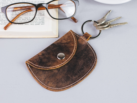 View our  Leather Purse Keyring from the   collection