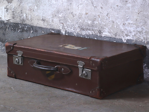 View our  Leather Suitcase from the  Kitchen  collection