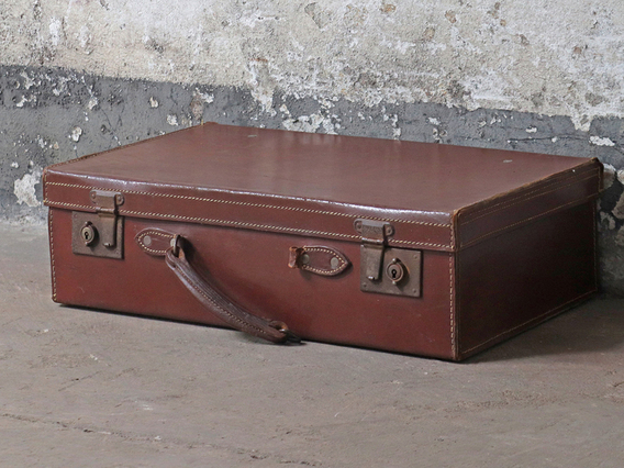 View our  Leather Suitcase from the   collection