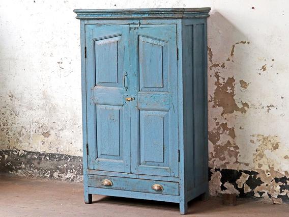 Old Blue Cupboard