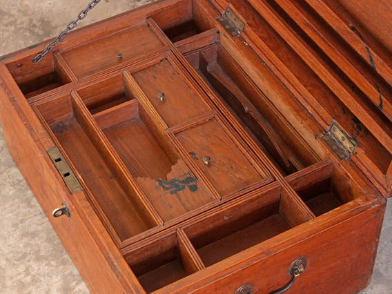 View our  Antique Memory Chest from the  Old Wooden Chests, Trunks & Boxes collection