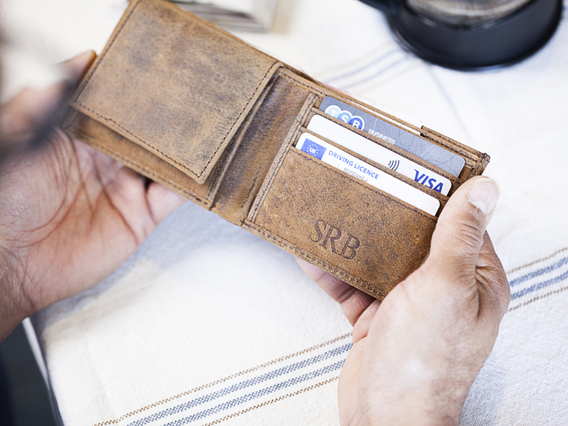 View our  Mens Leather Wallet from the   collection