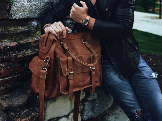 View our  Mens Weekend Bag from the   collection