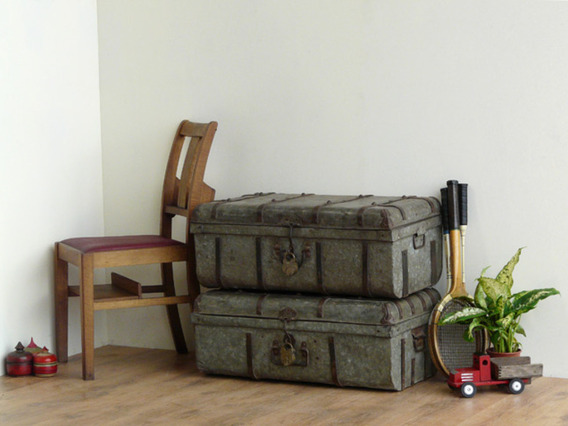 View our  Metal Trunk from the   collection
