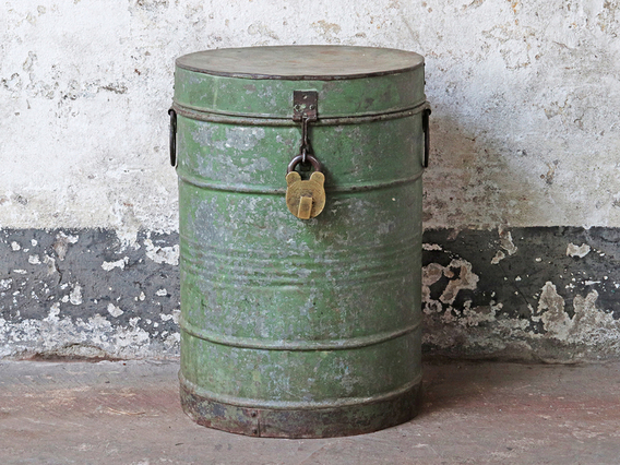 View our  Vintage Metal Drum   from the  Sold collection