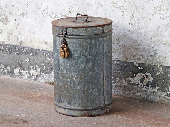 Metal Storage Drum