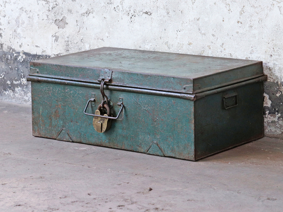 View our  Metal Storage Trunk from the  Furniture and Interiors collection
