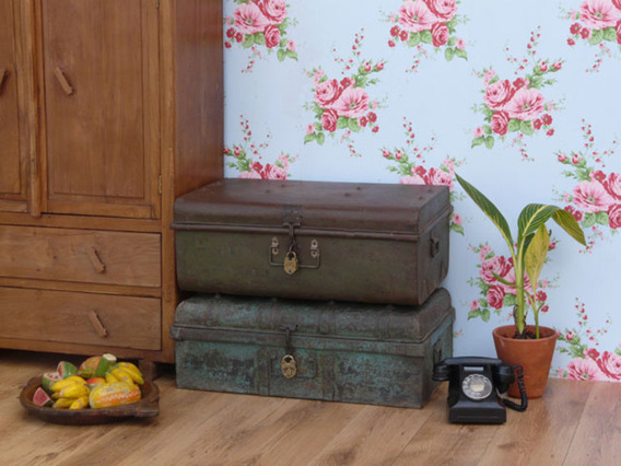 View our  Old Metal Trunk 104 from the   collection
