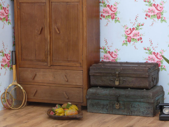 View our  Vintage Metal Trunk 105 from the   collection