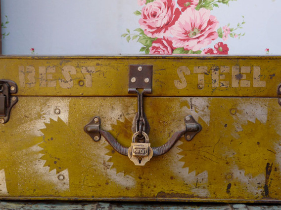 View our  Vintage Metal Trunk 106 from the   collection