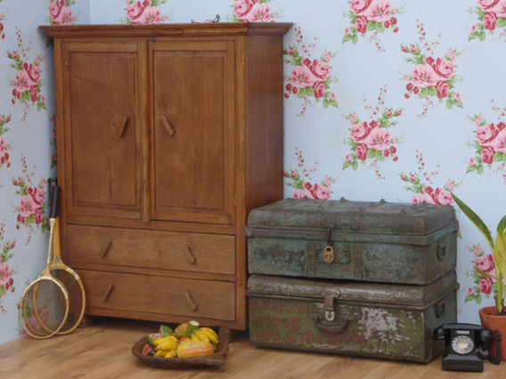 View our  Old Metal Trunk 119 from the   collection