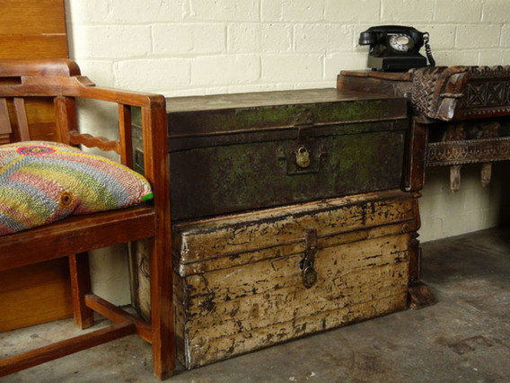 View our  Old Metal Trunk 157 from the   collection