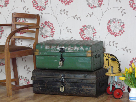 View our  Old Metal Trunk 2912 from the   collection