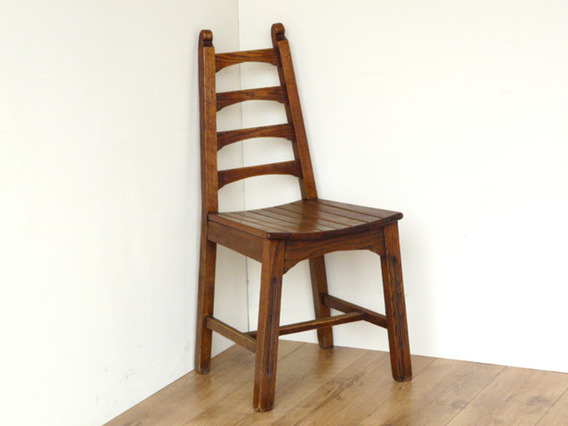 View our  Art Deco Oak Dining Chairs from the   collection