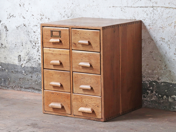 View our  Oak Vintage Filing Cabinet from the  Hallway collection