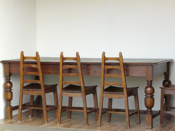 Antique Refectory Oak Table