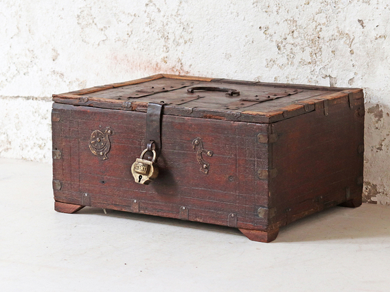 View our  Old Indian Shekawati Box from the  Hallway collection