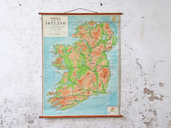 View our  Vintage Map Of Ireland from the   collection