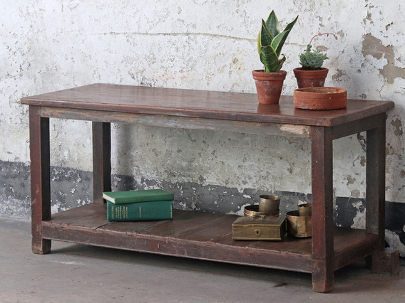 View our  Old Teak Table from the   collection