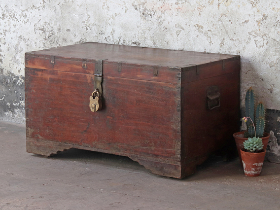 View our  Old Wooden Chest from the   collection