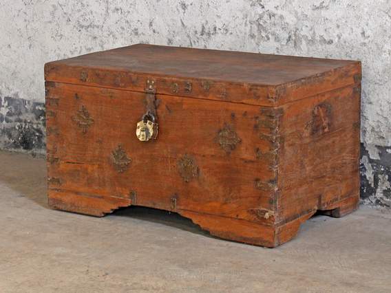 View our  Old Wooden Storage Trunk from the   collection