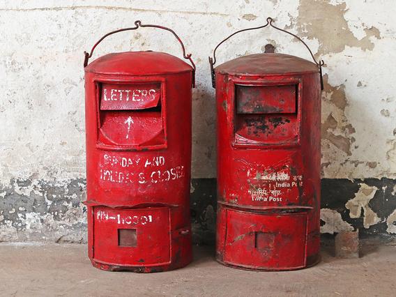 Original Indian Post Box - Large