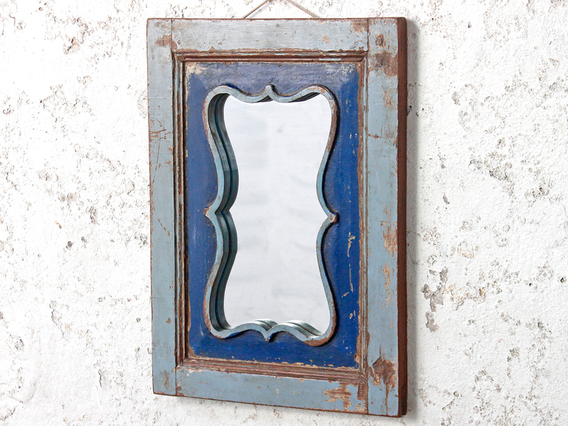 View our  Blue Wal Mirror from the   collection