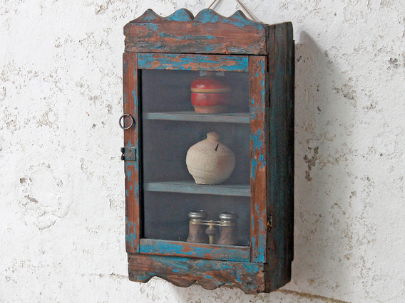 View our  Blue Wall Cabinet from the   collection